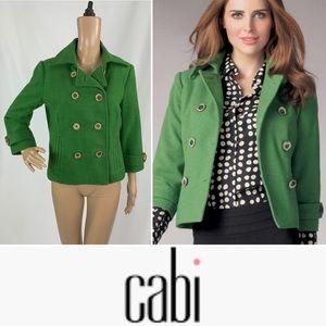 CABI Clover Jacket Cropped Pea Coat